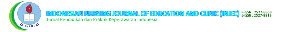Indonesian Nursing Journal Of Education and Clinic (INJEC)
